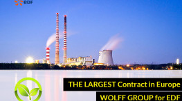 WOLFF GROUP gained the largest explosion safety contract in Europe