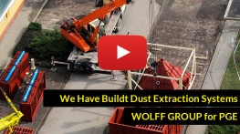 We Have Buildt Dust Extraction Systems