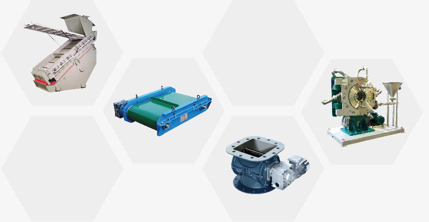 Equipment for Powders