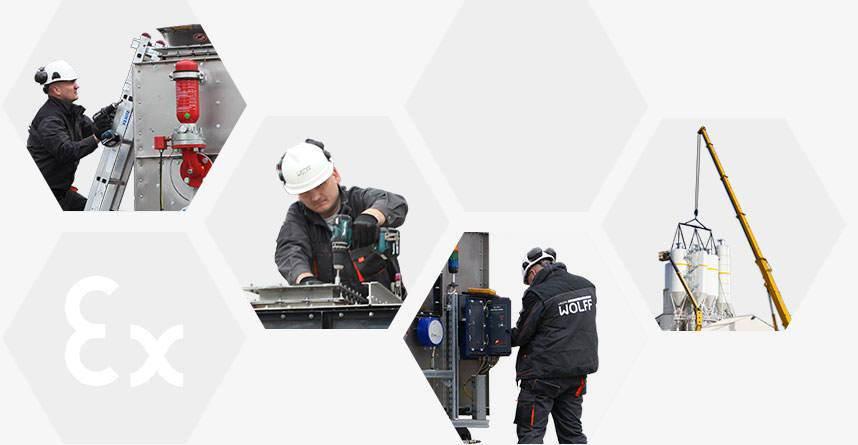 Modernisation / Installation / Service
