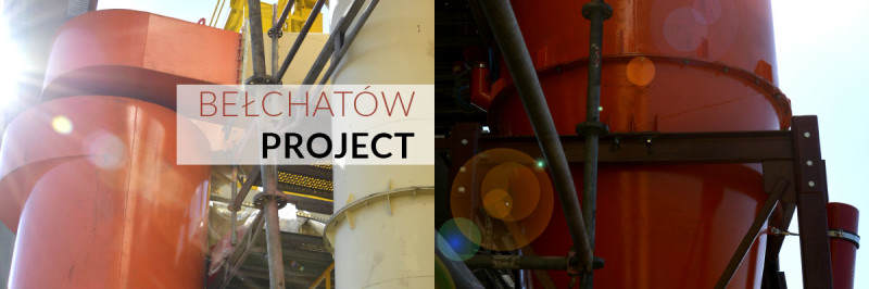 Belchatow Project - battery of cyclones – turn-key supply