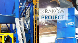 KRAKOW PROJECT - supply of a dust extraction system