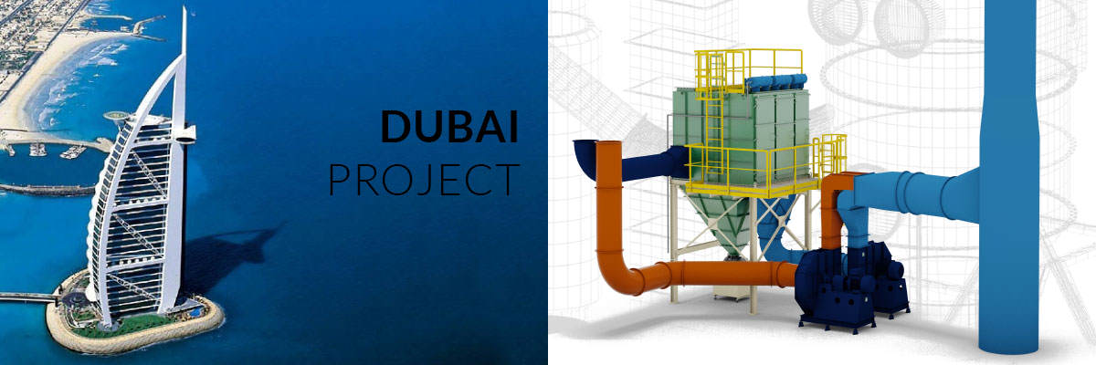 Dubai Project - SYSTEMS FOR EXCEPTIONALLY DIFFICULT WORK CONDITIONS