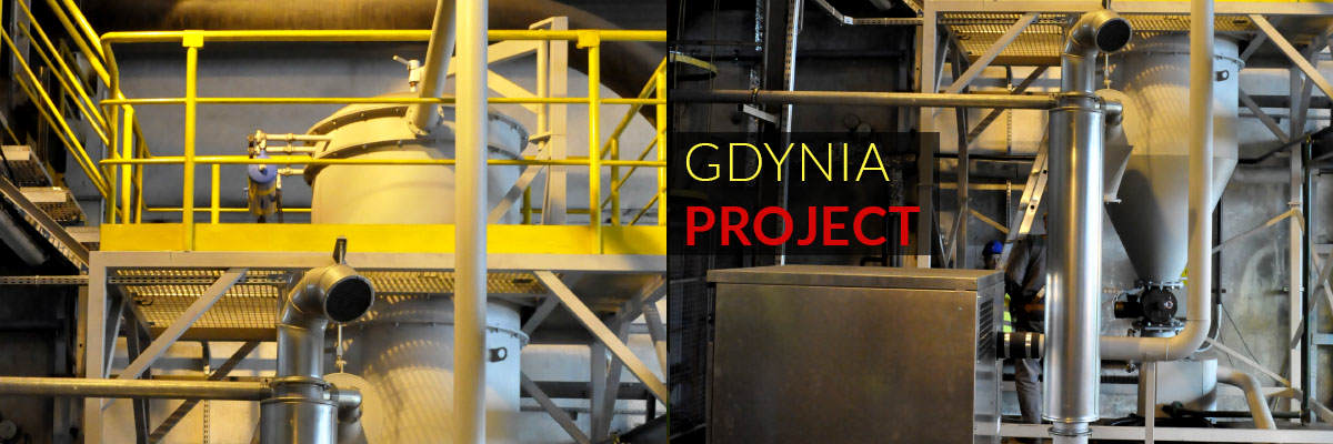 GDYNIA PROJECT - central vacuum