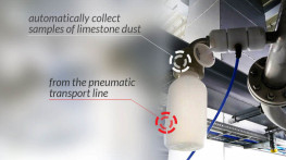 Supplies of 12 limestone dust sampling stations for three flue gas desulphurisation systems