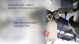 Supplies of 12 limestone dust sampling stations for three flue gas desulphurisation systems