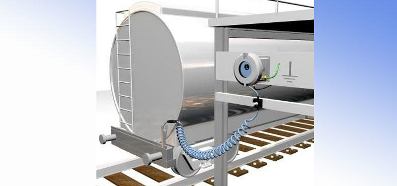 RAILWAY TANKER EARTHING CONTROL SYSTEM