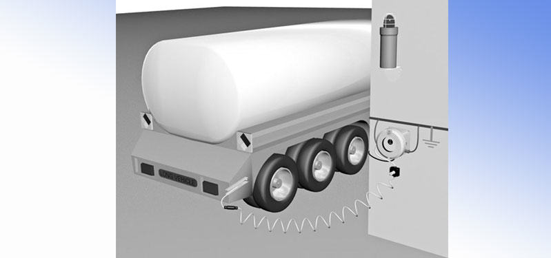 TANKER EARTHING CONTROL SYSTEM