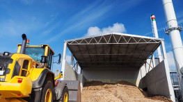 Modernisation of the biomass feeding system and installation of a dust extraction system