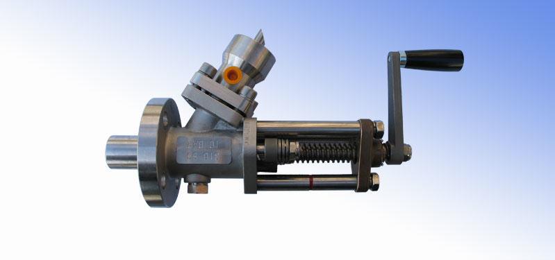 Liquid sampling valve
