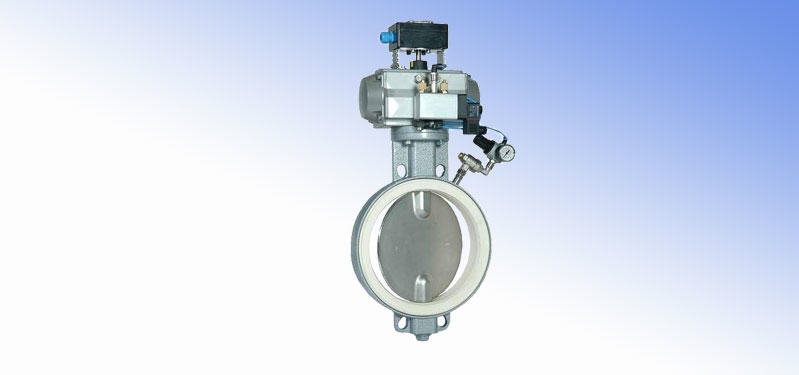 Throttling butterfly valves