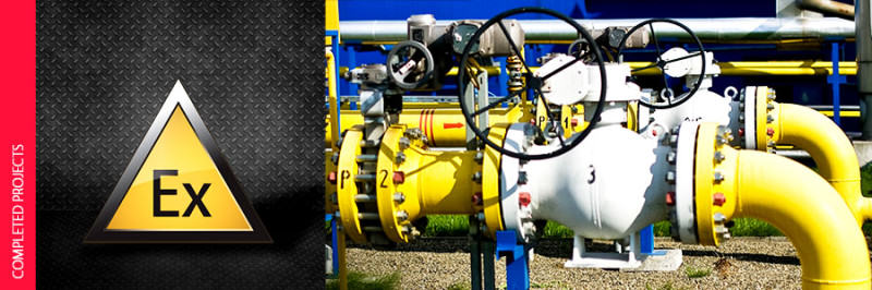 Explosion Protection Document for a natural gas network