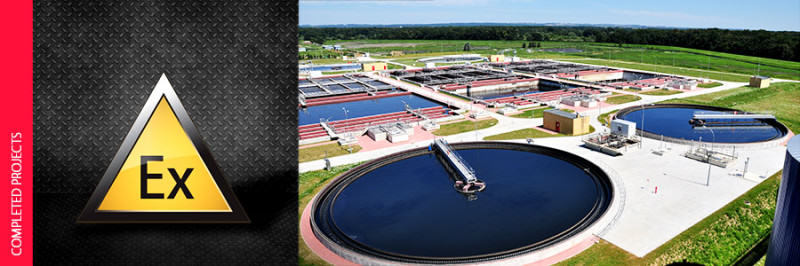 Explosion safety audit of the sewage sludge drying, transport and storage divisions