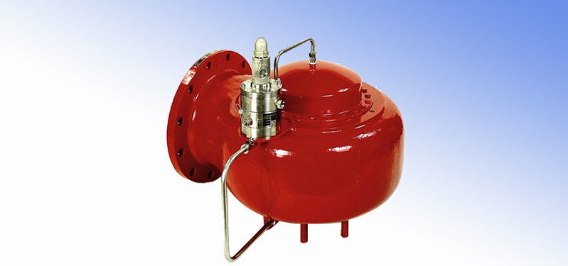 Pilot Controlled Bleed Valves