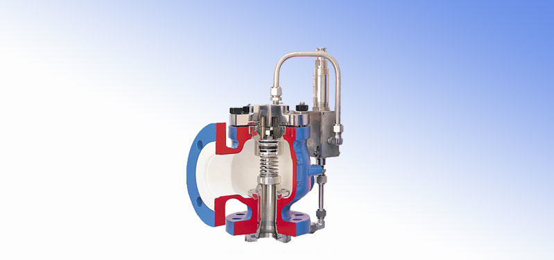 Pilot Controlled Safety Valves