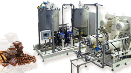 Chocolate production line