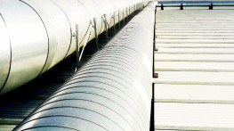 Design and production of ventilation systems for a plant producing bathroom fittings and sanitary equipment