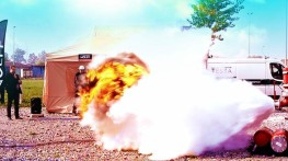 Demonstration of Explosions at Chem-Safety-Expo