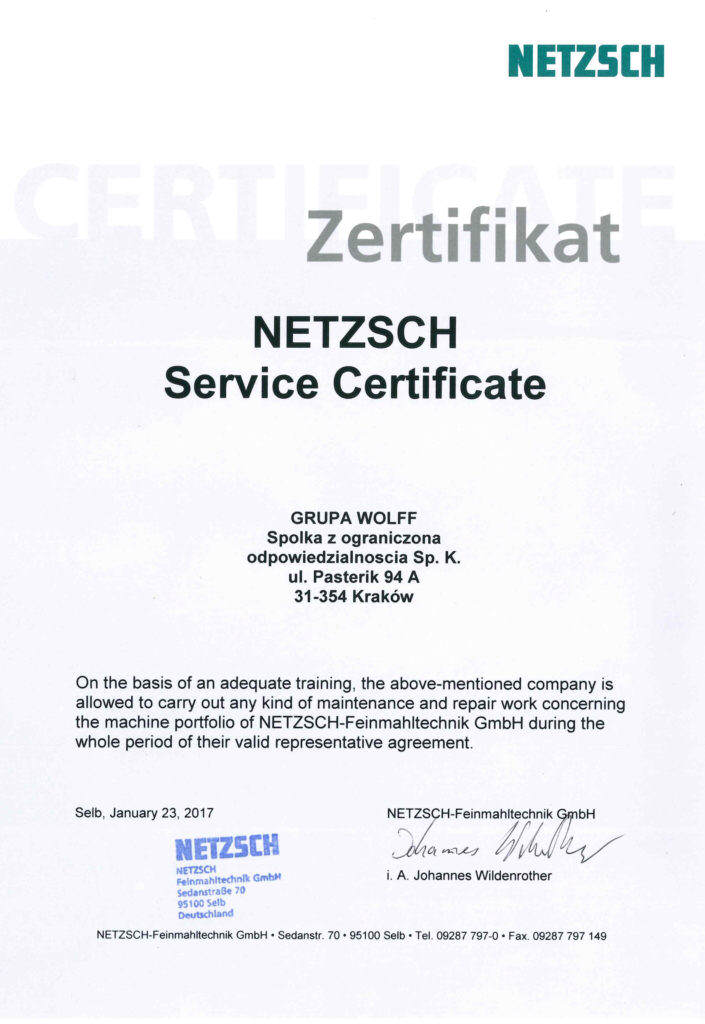 Service Certificate For New Type Of Explosion Doors