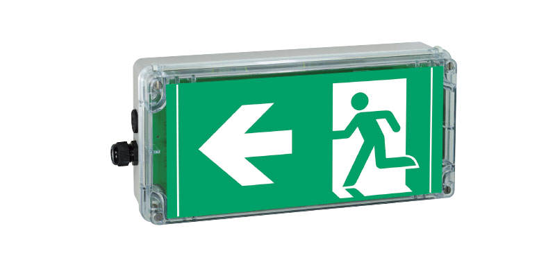 Ex-escape sign luminaires ATEX