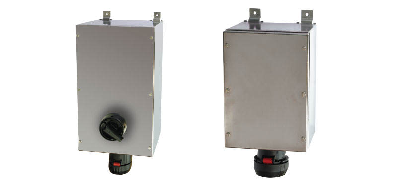GHG 51 Ex-Wall Sockets with Stainless Steel Enclosure