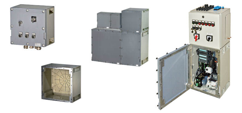 Ex-d Enclosures and Distributions GHG 64