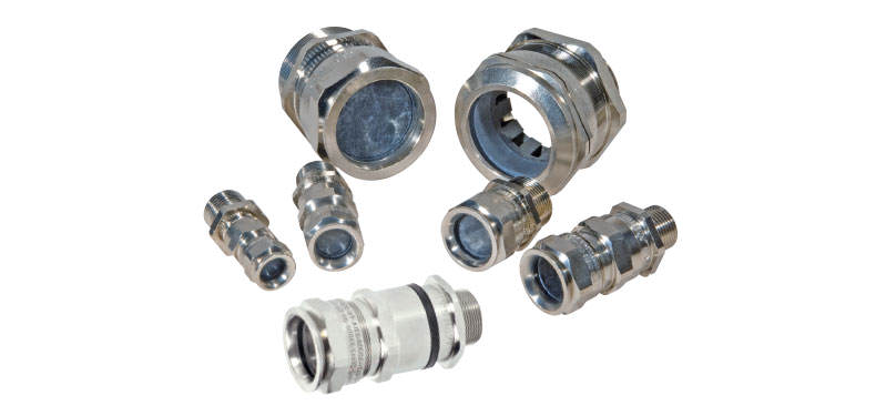 Ex-d/e Cable Glands Metal Design
