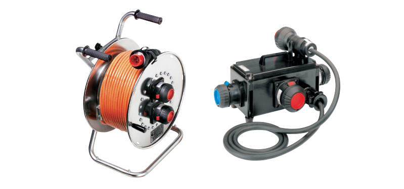Ex-Portable Multi-Outlet Distributions and Cable Reels