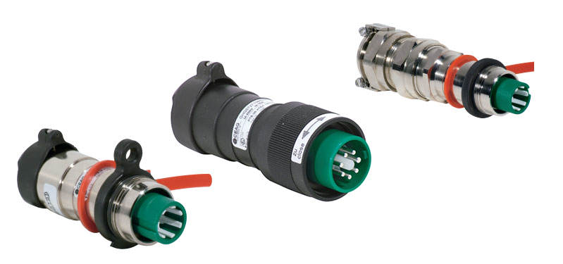eXLink 7-pole / 6-pole + PE - 16 A for Zone 1 and Zone 22