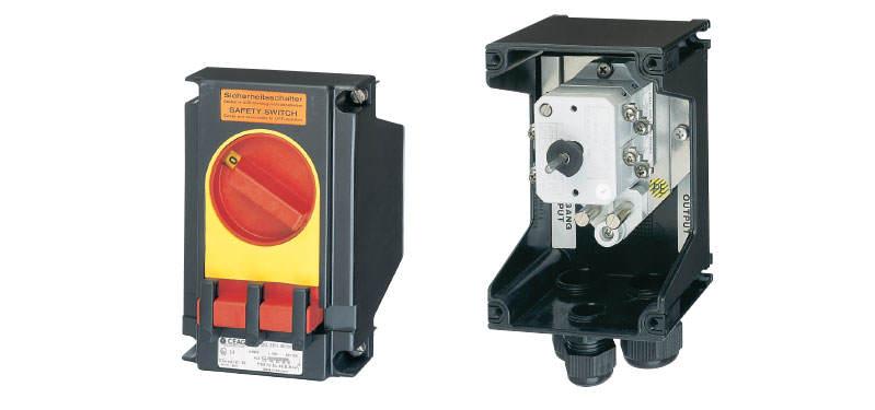 GHG 26 / EXKO 2.. Ex-Safety Switches