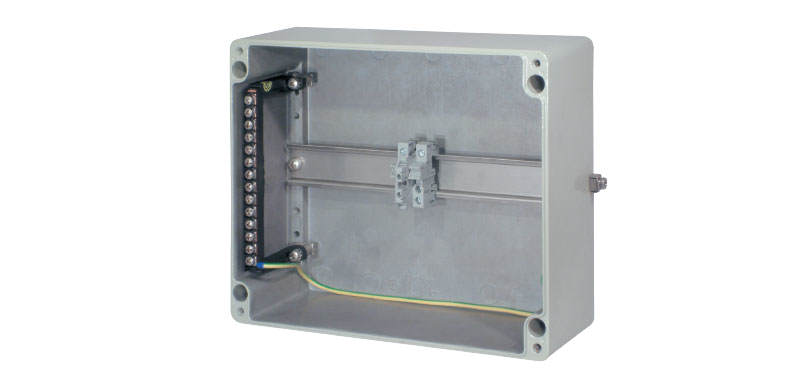 Universal Terminal Boxes Ex-e/Ex-i Technology Light alloy metal design for Zone 1, 2, 21 and 22