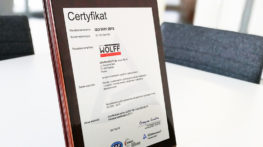 ISO 9001:2015 certification for 2018 successfully completed