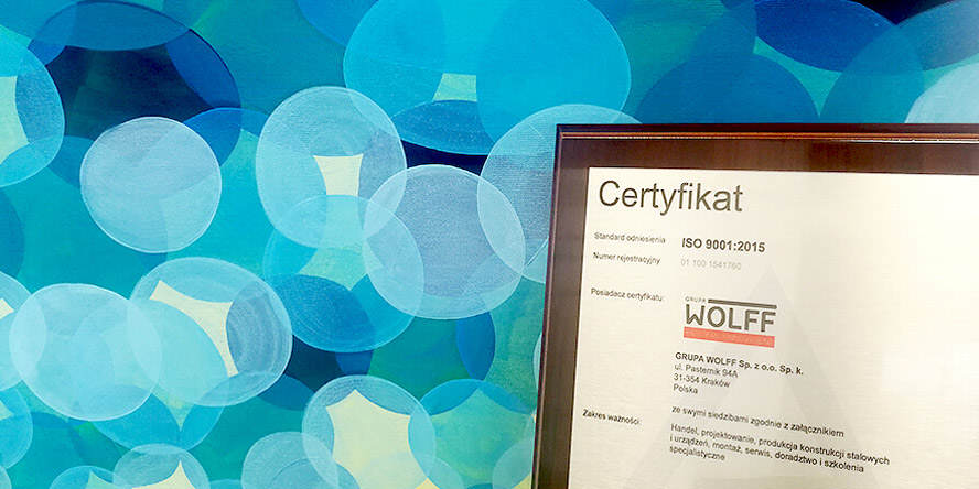 Successful recertification of ISO 9001:2015 for 2019