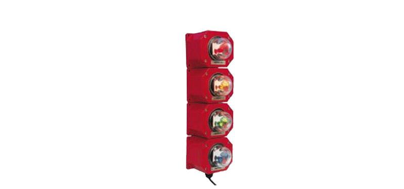 multicolour signal lights