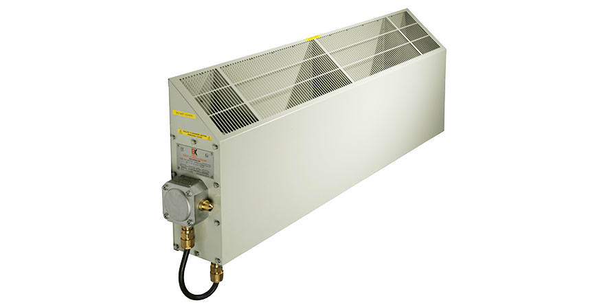 Convector heater | ATEX gas zones | FCR type