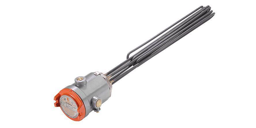 Plunger Heater | ATEX – gas / dust zone | RFA type
