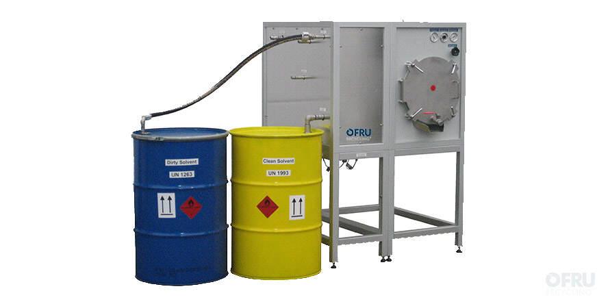 Vacuum distiller – Compact