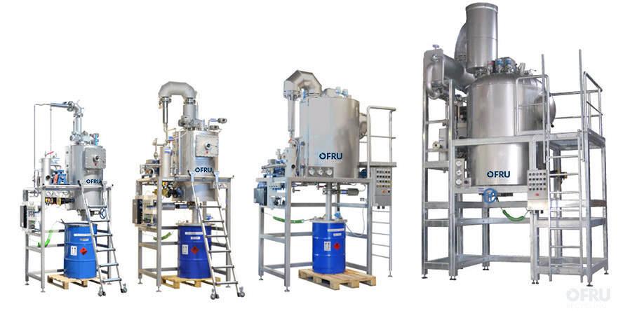 Solvent vacuum distiller – ASC
