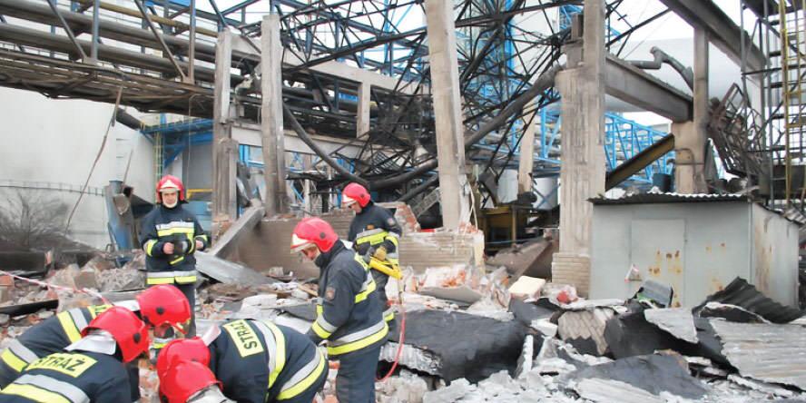 Explosion at Dolna Odra power plant
