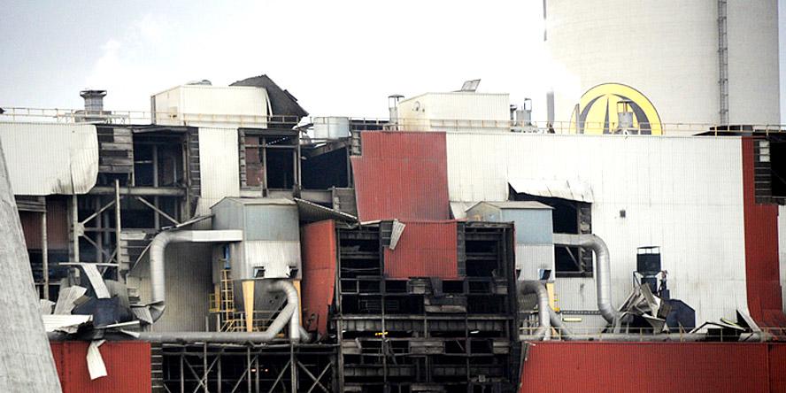 Explosion at Turów power plant