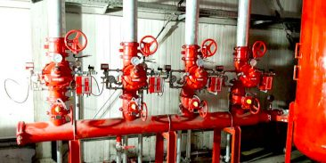 Foam extinguishing system