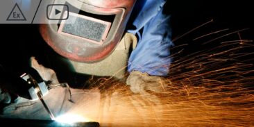 causes of explosion of flammable vapours and gases during renovation works using welding